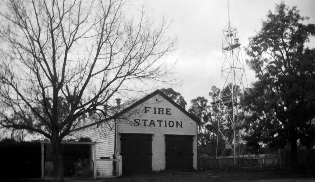 VT fire station long ago